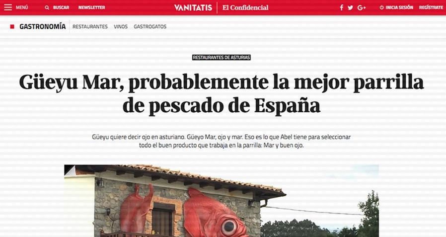 Güeyu Mar, probablemente la mejor parrilla de pescado de España